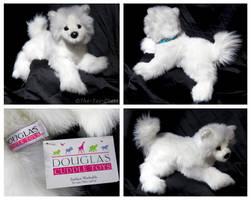 Douglas Medium Floppy Dogs - Piper Samoyed by The-Toy-Chest