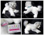 Douglas Medium Floppy Dogs - Piper Samoyed
