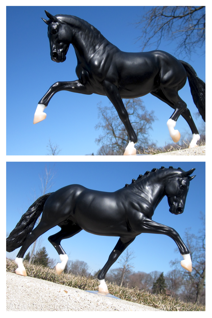 Breyer - Extended Trot by The-Toy-Chest