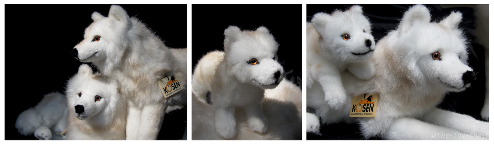 Wolf Family Toy : Kosen arctic wolf family i by the toy chest on deviantart