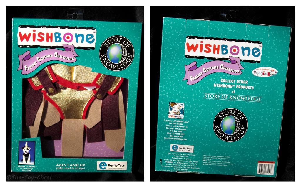 Wishbone Fantasy Costume NIB - Odysseus by The-Toy-Chest