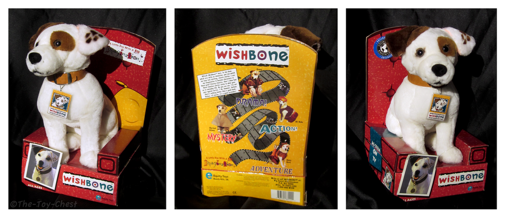 Wishbone - 12 Inch Plush by The-Toy-Chest