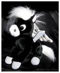 Disney Store - Fantasia Black Baby Pegasus