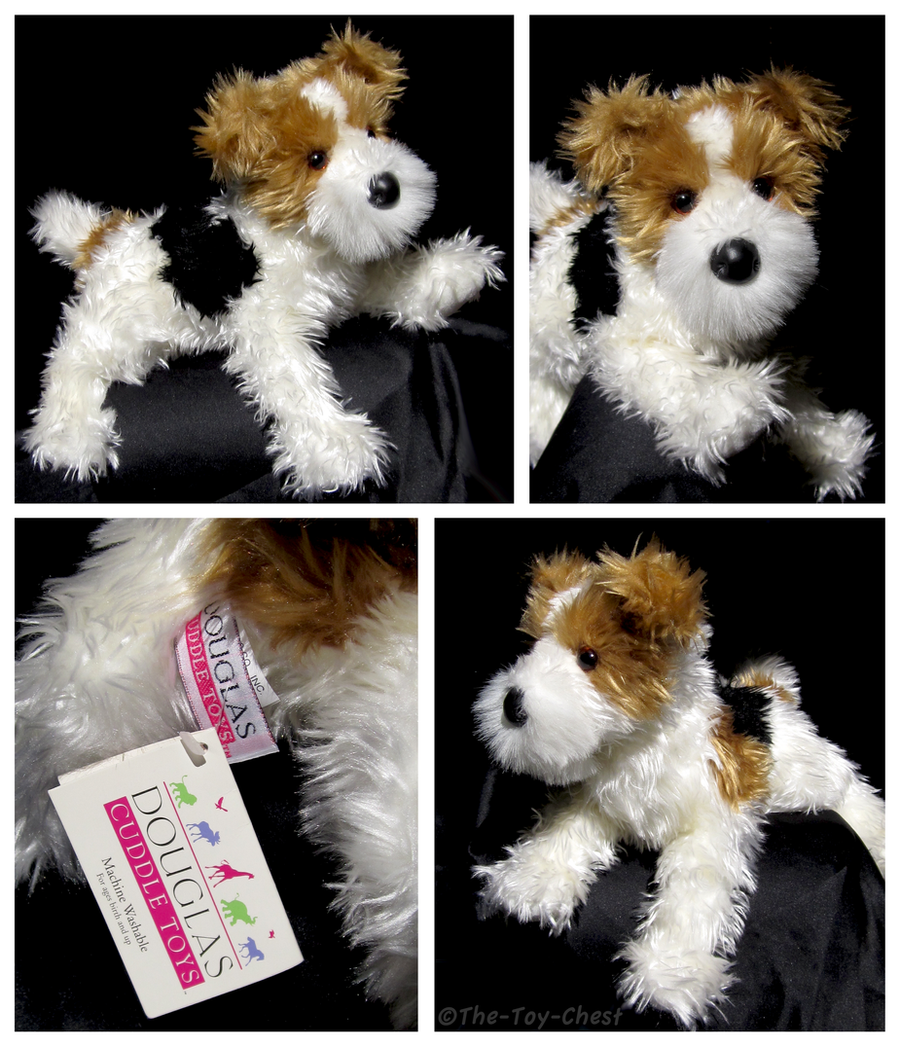 Douglas Medium Floppy Dogs - Cassie Fox Terrier by The-Toy-Chest on ...