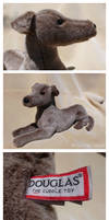 Douglas Cuddle Toys - Silver Greyhound
