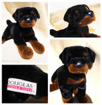 Douglas Large Floppy Dogs - Bubba Rottweiler