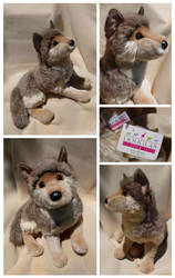 Douglas Large Floppy Wolf - Tahoe by The-Toy-Chest