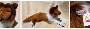 Douglas Cuddle Toys - Shiloh Collie by The-Toy-Chest