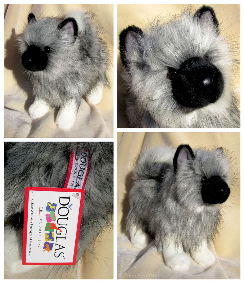 Umbra Keeshond By The Toy Chest