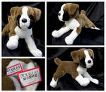 Douglas Medium Floppy Dogs - Romeo Boxer