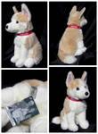 Douglas Medium Sitting Dog - Dallas Husky