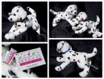 Douglas Medium Floppy Dogs - Squirt Dalmatian