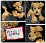 Douglas Medium Floppy Dogs - Kipper Airedale