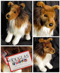 Douglas Medium Floppy Dogs - Whispy Sheltie