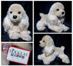 Douglas Medium Floppy Dogs - Curly Cocker Spaniel