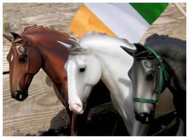 Breyer Irish Draughts - Happy St. Patrick's Day!