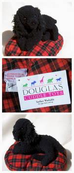 Douglas Mini Classics - Poodle On Bed