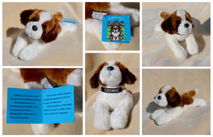 Douglas Floppy Dogs - Cedric St. Bernard Premium