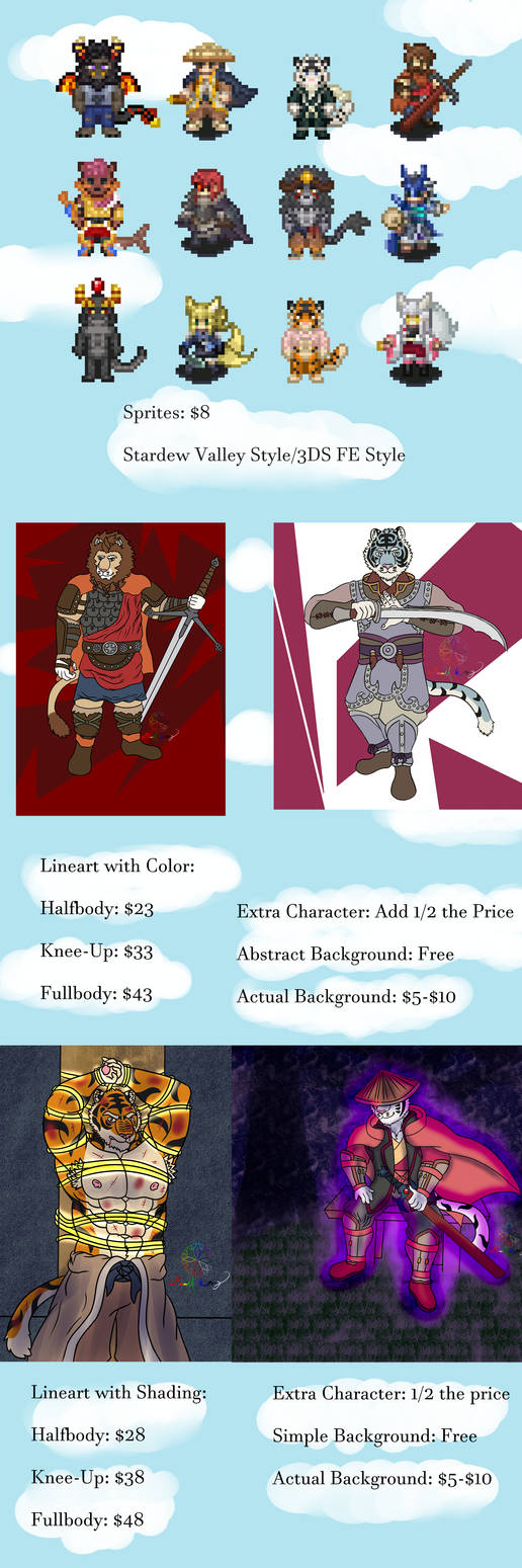 Commissions! (Updated Prices!)