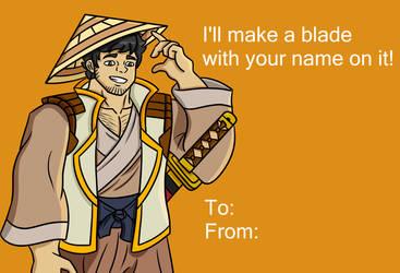 Specter Valentine Card