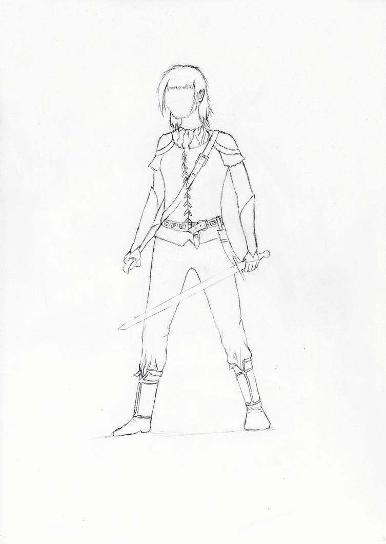 Sikona human form dark age draft by Saliona93