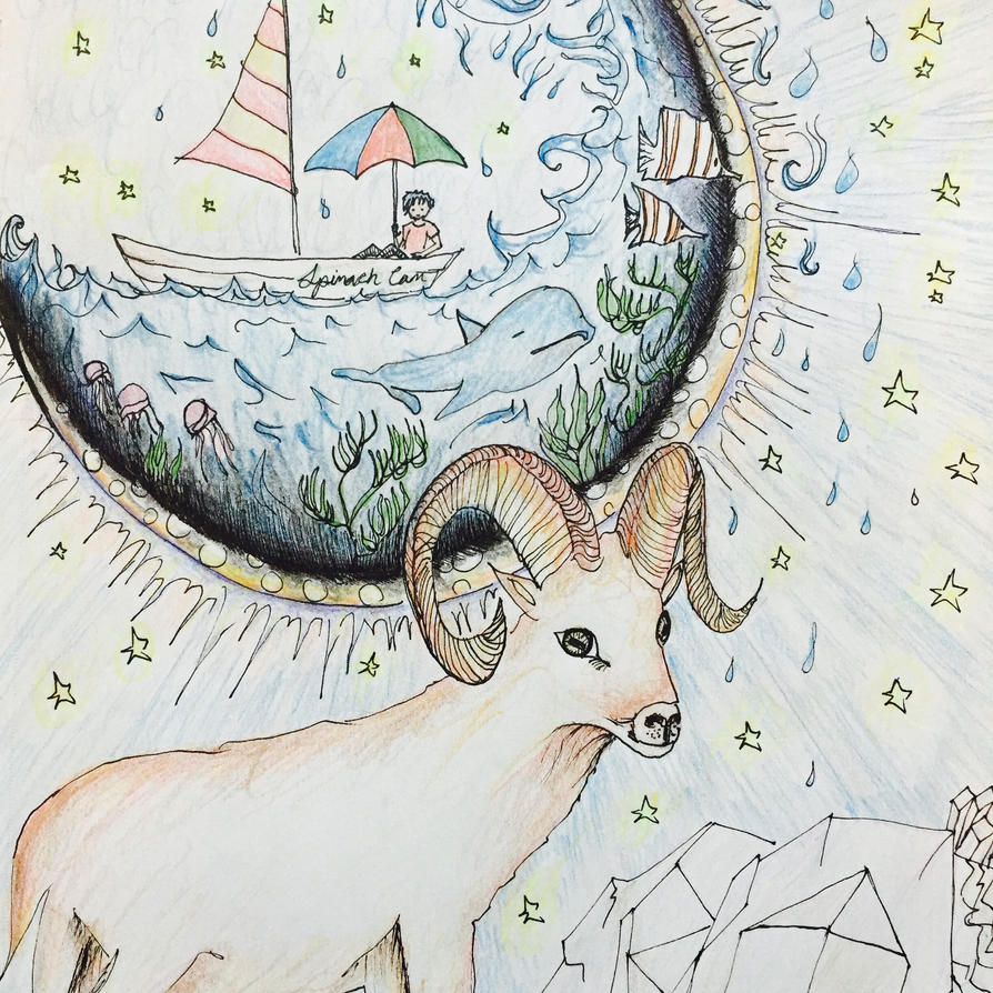 new moon in aries (4/7/16) by secretandrose