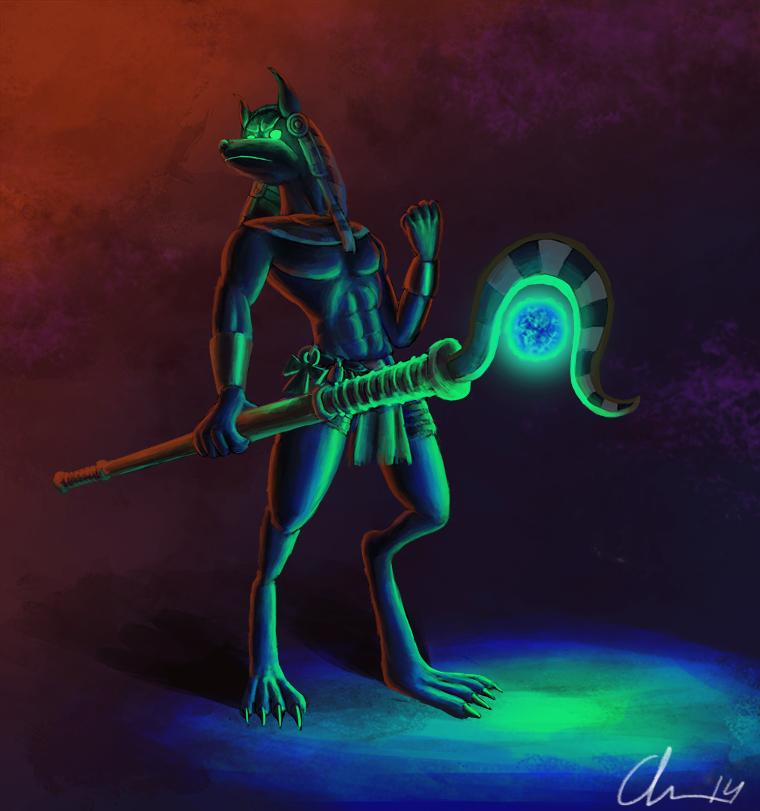 Anubis by KikiTheMonkey