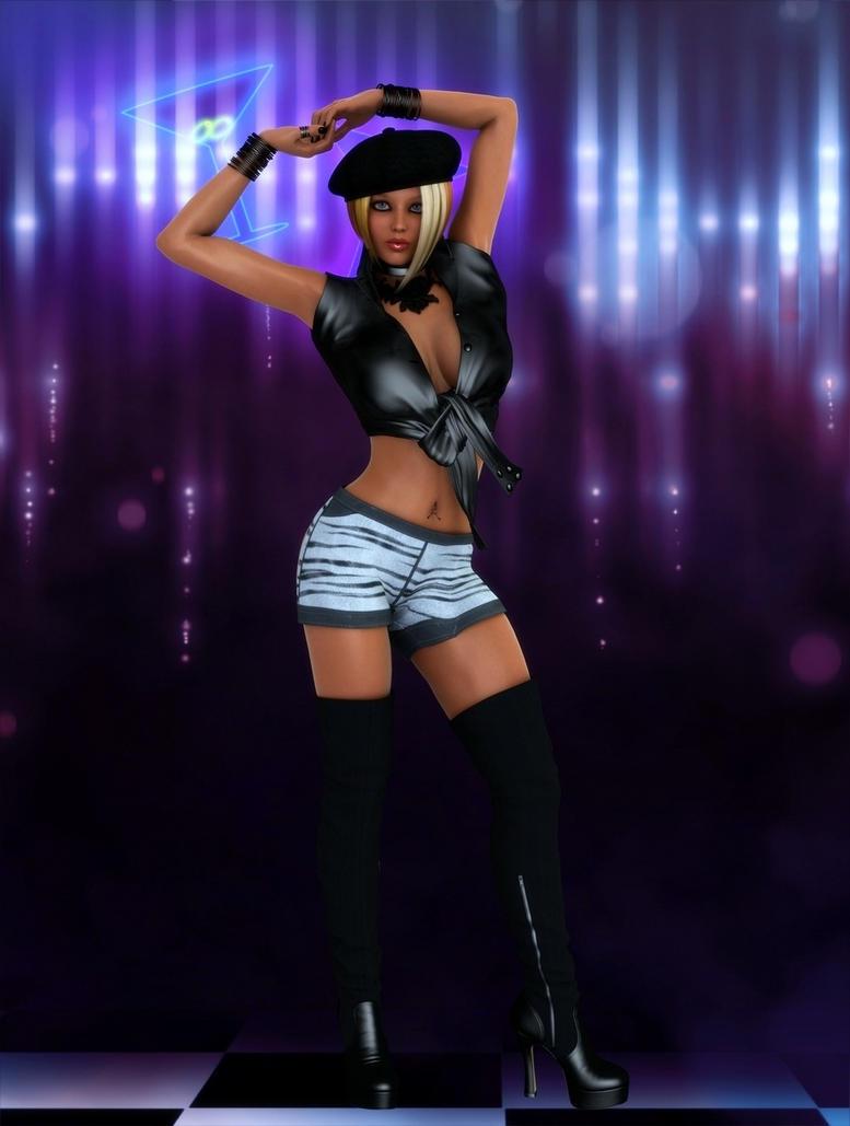 Go-Go Dancer by rdrgs on DeviantArt