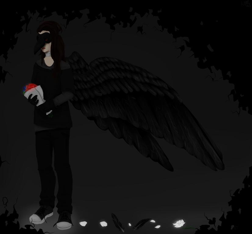 Art Showcase - Page 2 Raven_by_madhatcreations-d5vncvm