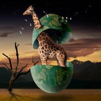 Joshua Giraffe by EveningEve