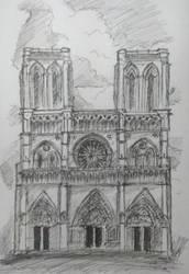 Notre Dame (FAST SKETCH!!)