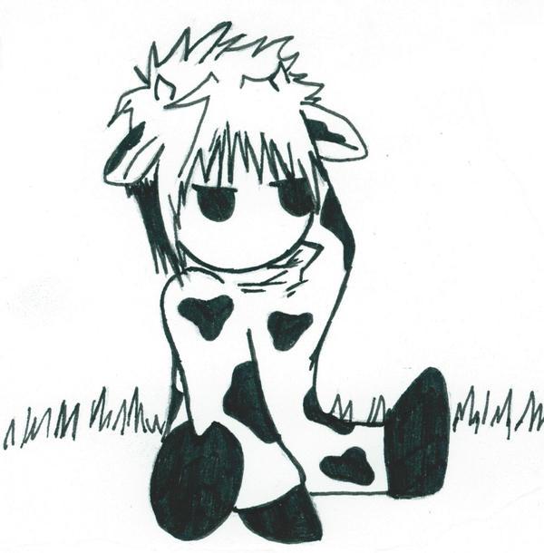Haru cow by avatar anime