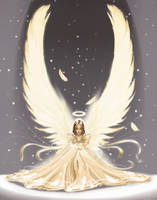 Snow Angel by kalomus