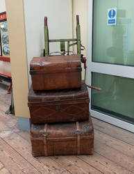 Luggage-stock by SuperSnappzStock