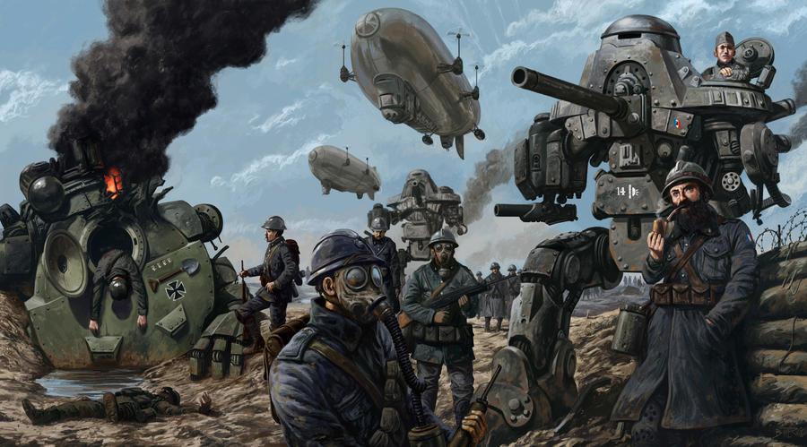 uchronic world war 1