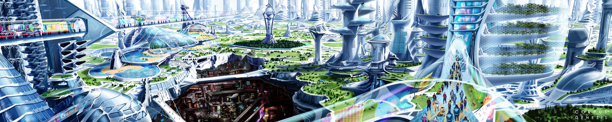 Residentiel Corpus Genesis by loboto