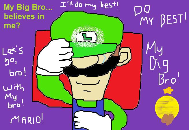Luigi S Best Dream By Subukunojess On Deviantart