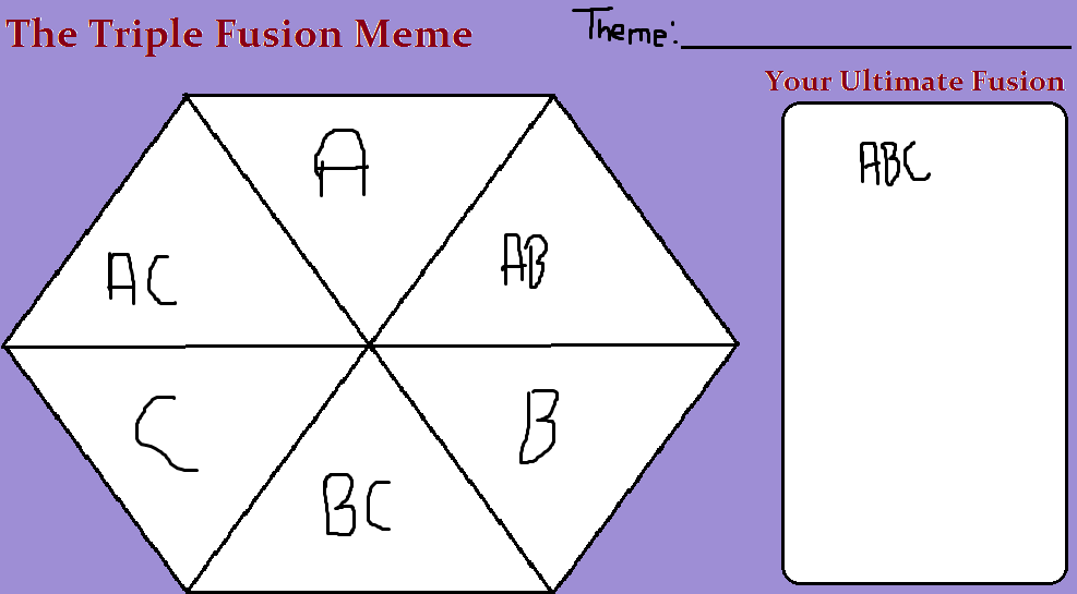 Triple fusion blank meme by subukunojess on deviantart triple fusion blank meme by subukunojess ccuart Image collections