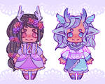 [CLOSED] magical forest adopts | $1 SB auction!