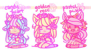 [CLOSED] flower crown adopts | FREE SB auction!