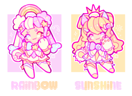 [CLOSED] magical girl adopts! | auction