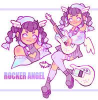 [CLOSED] rocker angel! | auction