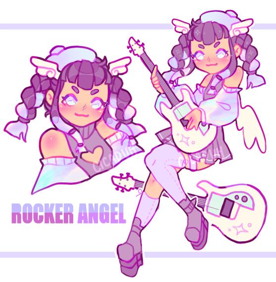 [CLOSED] rocker angel!   auction
