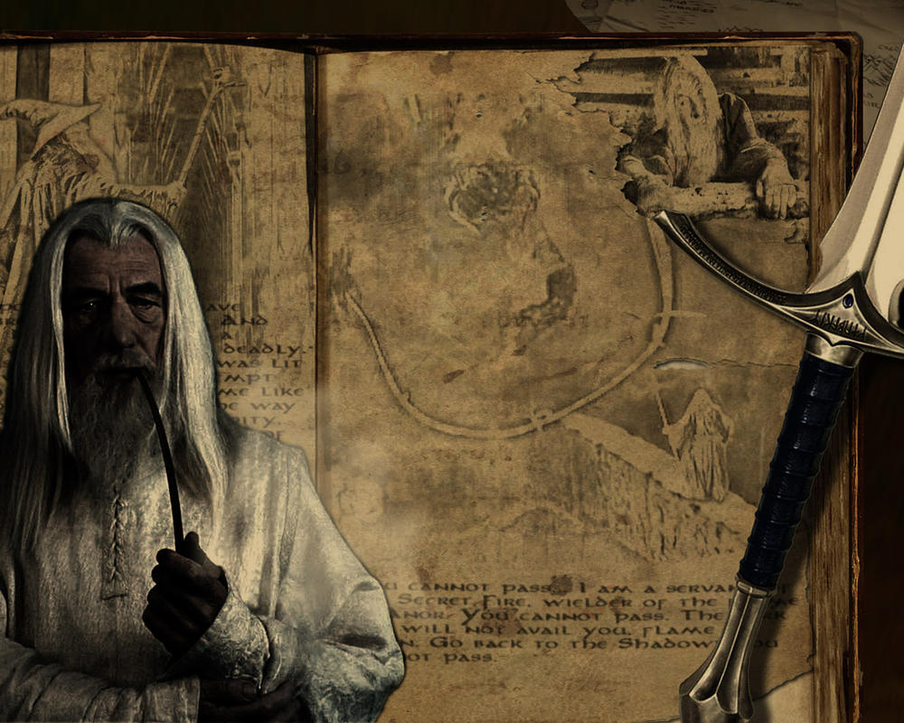 Lord of the Rings Gandalf by TheAngryAngel
