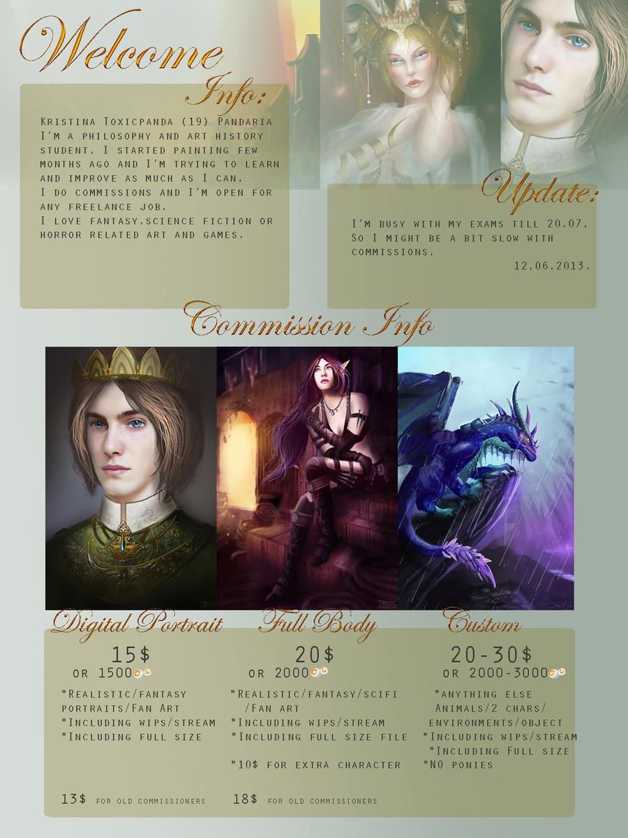 Info by KristinaToxicpanda