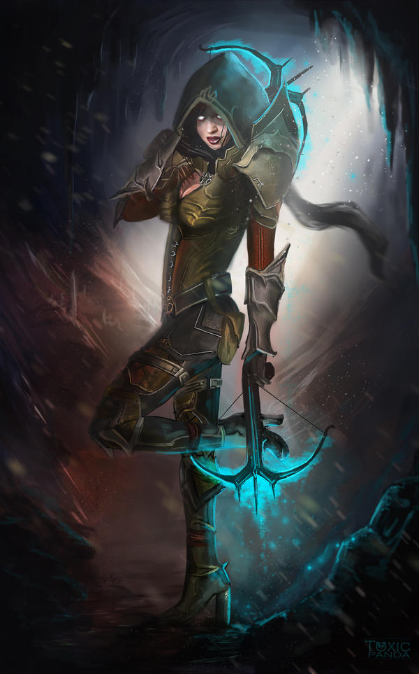 Diablo III: Demon Hunter by T00xicpanda