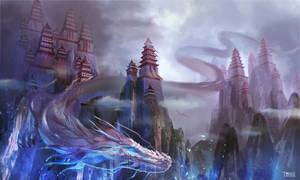 Dragon by KristinaToxicpanda