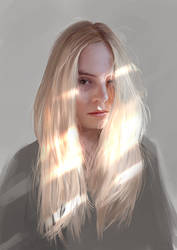 Self Portrait Day 5 by KristinaToxicpanda