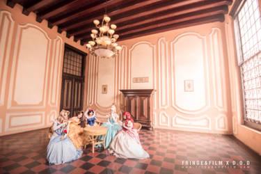 Disney Princess by archiekwa