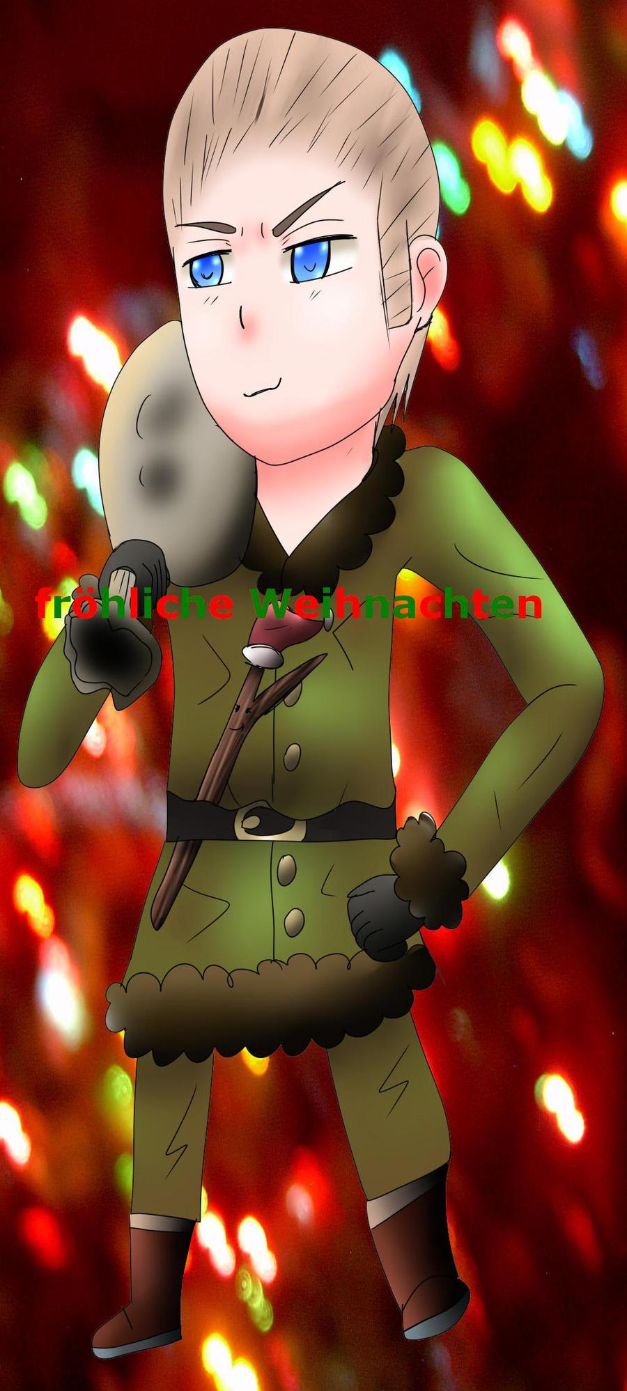 Germany  frohliche Weihnachten by ZzZNelliezZz